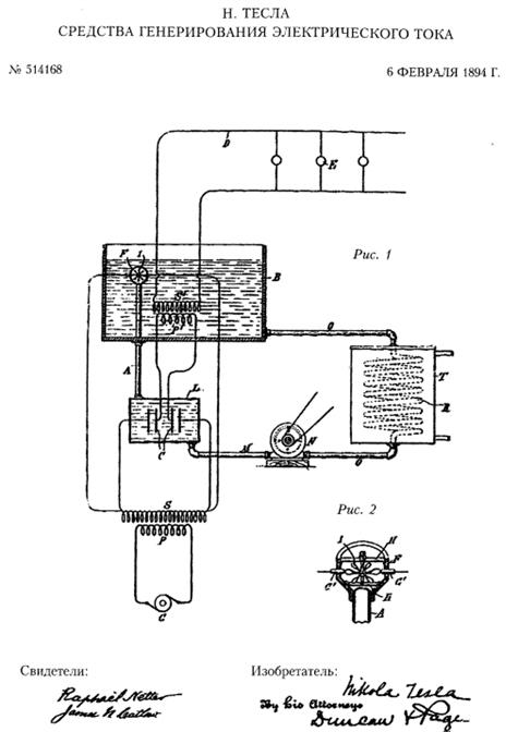 электрического тока Тесла