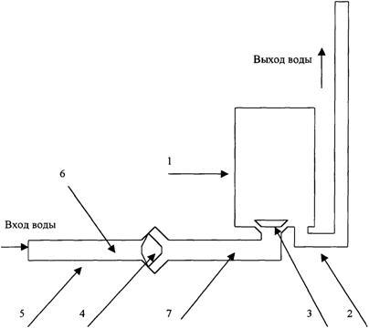 Схема водоподъемного